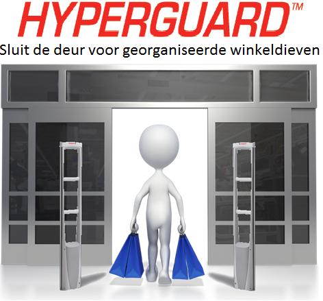 Hyperguard sluit deur