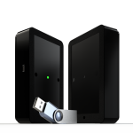 Draadloze USB klantenteller